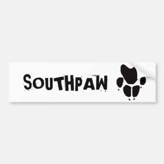 Southpaw Bumper Sticker