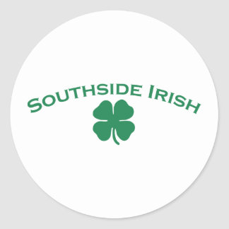 Southside Irish Classic Round Sticker