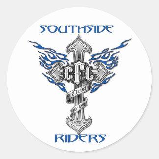 "Southside Riders 3"" Sticker"