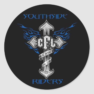 Southside Riders Helmet Sticker