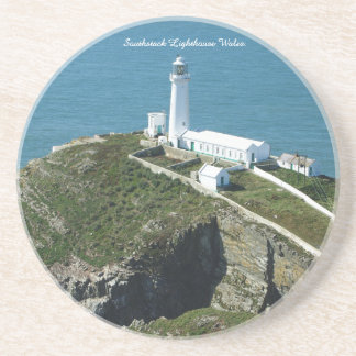 Southstack Lighthouse Wales. Coaster