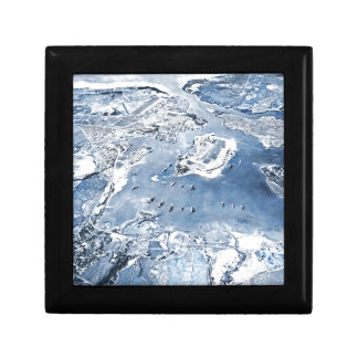 Southward Overhead View Pearl Harbor Gift Box