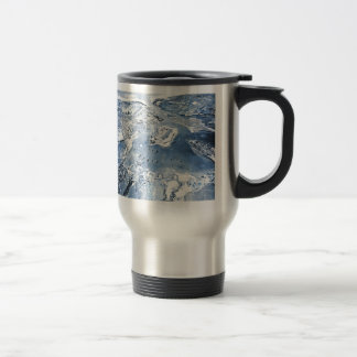 Southward Overhead View Pearl Harbor Travel Mug