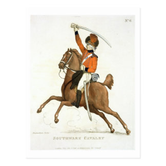 Southwark Cavalry Volunteer, plate 6 from 'Loyal V Postcard