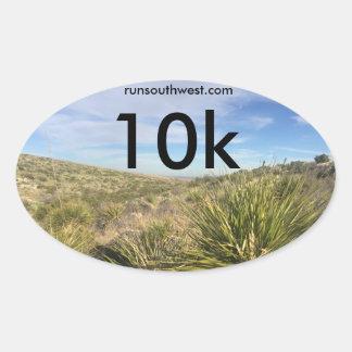 Southwest 10k Participant Sticker