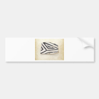 Southwest Ancient Anasazi Native American Pottery Bumper Sticker