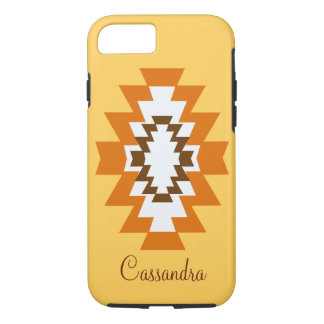 Southwest Aztec Yellow Native American Tribal iPhone 7 Case
