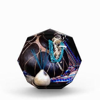 Southwest Black Pot Incense Turquoise Necklace