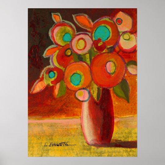 Southwest-Bouquet Poster