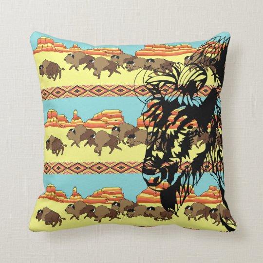 Southwest Buffalo Stripe Pillow