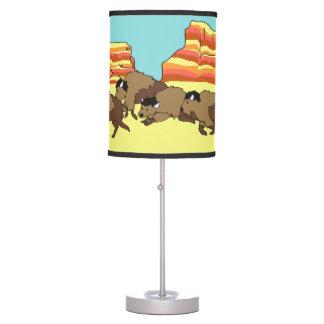 Southwest Buffalo Table Lamp