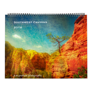 Southwest Canyons Calendars