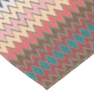Southwest Chevron Zigzag Cotton Tablecloth