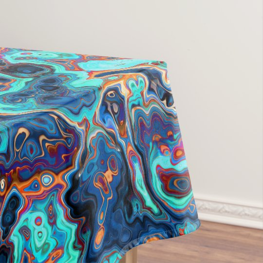 Southwest Colours Marbled Abstract Tablecloth