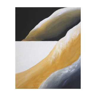Southwest Desert Abstract Art Canvas Print