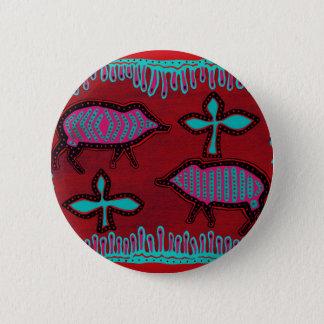 Southwest Desert Animals 2 Inch Round Button