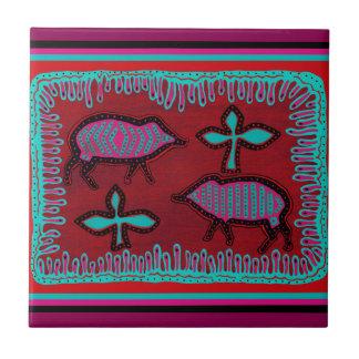 Southwest Desert Animals Ceramic Tiles