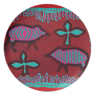Southwest Desert Animals Party Plate