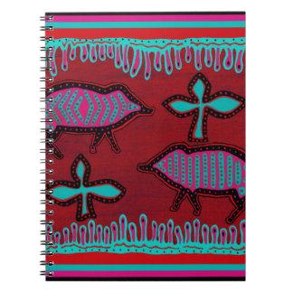 Southwest Desert Animals Spiral Notebook