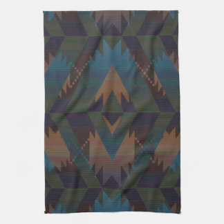 Southwest Design Aztec Print Kitchen Towel