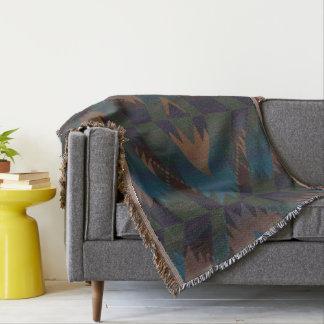 Southwest Design Aztec Print Throw Blanket