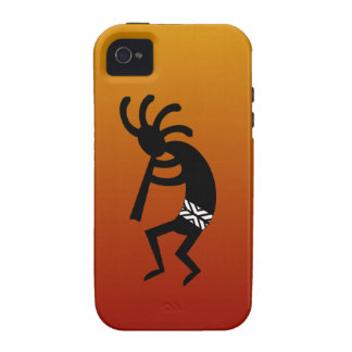 Southwest Design Dancing Kokopelli Case-Mate iPhone 4 Covers