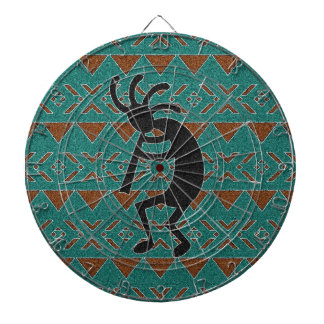 Southwest Design Dancing Kokopelli Dartboard