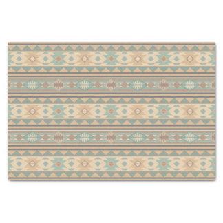 Southwest Design Green Brown Tan Tissue Paper