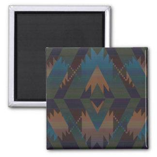 Southwest Design Magnet 2 Inch Square Magnet
