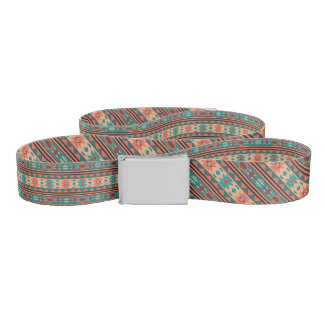 Southwest Design Turquoise Terracotta Monogram Belt