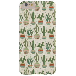 Southwest Geo Step   Cactus Pattern Barely There iPhone 6 Plus Case