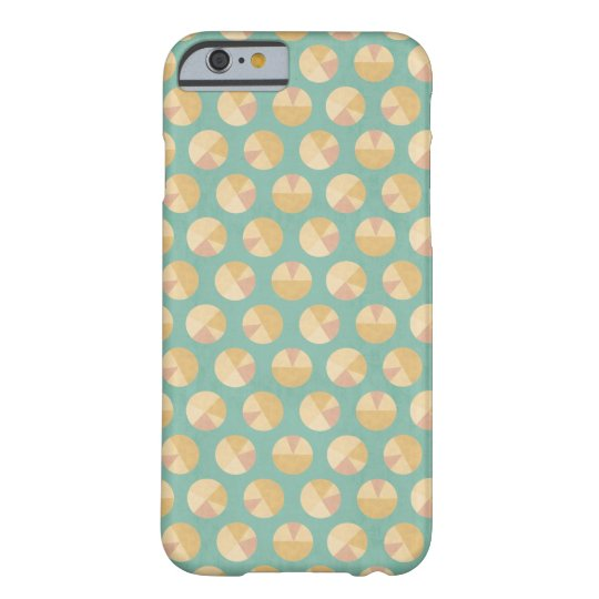 Southwest Geo Step | Orange & Green Circle Pattern Barely There iPhone 6 Case