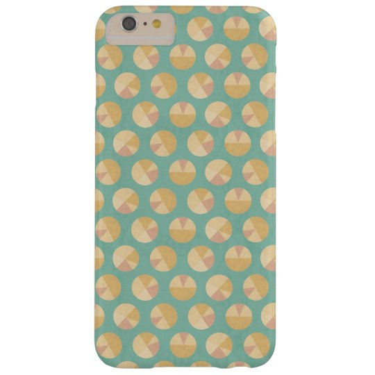 Southwest Geo Step | Orange & Green Circle Pattern Barely There iPhone 6 Plus Case