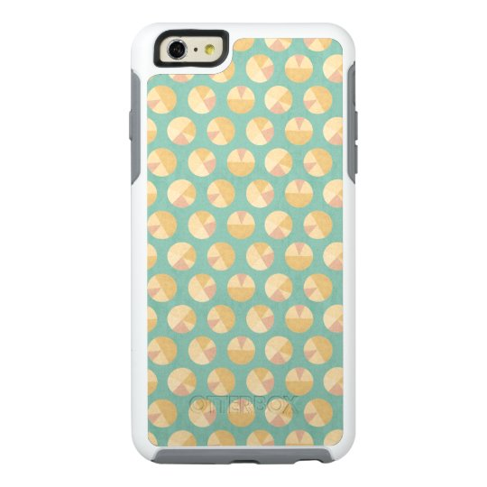 Southwest Geo Step | Orange & Green Circle Pattern OtterBox iPhone 6/6s Plus Case