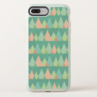 Southwest Geo Step | Teal Triangle Pattern OtterBox Symmetry iPhone 8 Plus/7 Plus Case