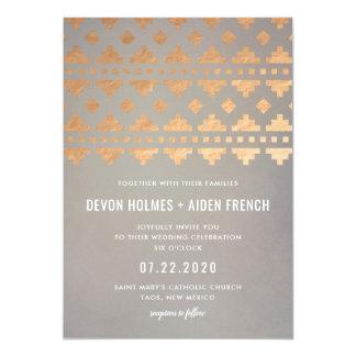 Southwest Gleam Wedding Invitation