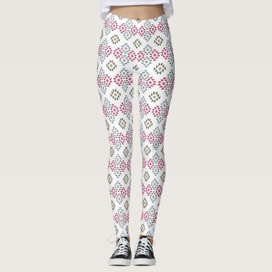 Southwest inspired design leggings