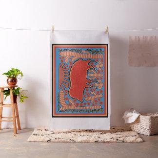 Southwest Javelina Custom Fabric