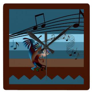 Southwest Kokopelli Music Clock