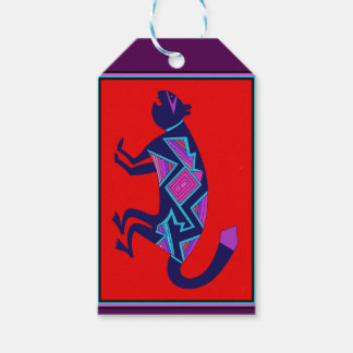 Southwest Mimbres Cat Gift Tags