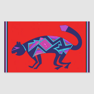 Southwest Mimbres Cat Sticker