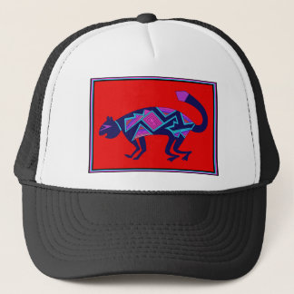 Southwest Mimbres Cat Trucker Hat