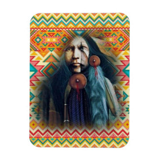 Southwest Native American Brave Magnet