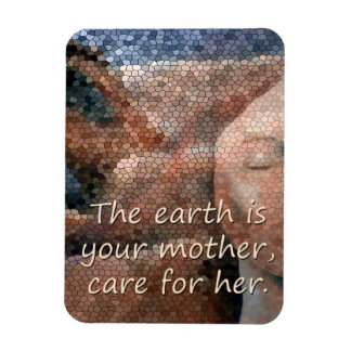 Southwest Native American Mother Earth Lg M Magnet