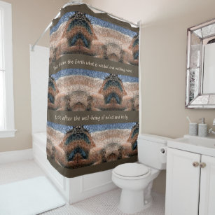 Southwest Native American Shower Curtain