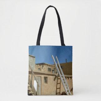 Southwest New Mexico Navajo Adobe Dwelling Tote Bag
