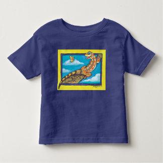 Southwest Orange Lizard Butterfly T Shirt Humorous