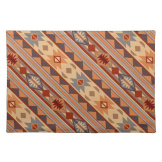 Southwest Pattern Design Tan Placemat
