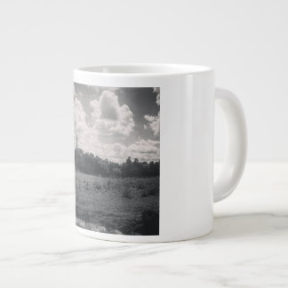 Southwest Ranches by Pablo A. Cuadra Large Coffee Mug