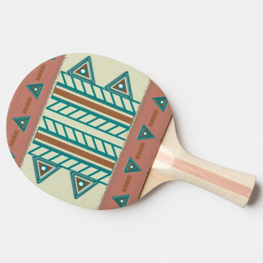 Southwest Serenity Ping Pong Paddle